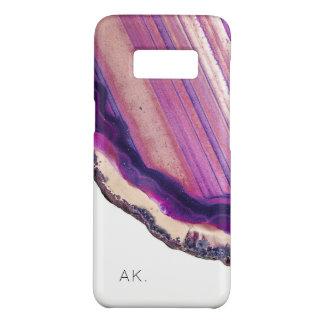 Coque Case-Mate Samsung Galaxy S8 Cristal pourpre personnalisé de l'affaire | de