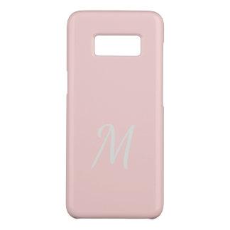 Coque Case-Mate Samsung Galaxy S8 Doux élégants décorés d'un monogramme pâlissent -