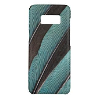 Coque Case-Mate Samsung Galaxy S8 Éventée conception bleue de plume