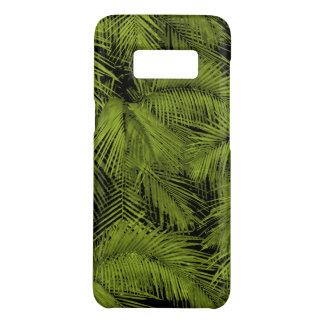 Coque Case-Mate Samsung Galaxy S8 Feuille tropical vert hawaïen de paumes de Makana