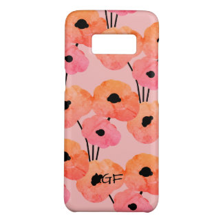 COQUE Case-Mate SAMSUNG GALAXY S8 GALAXIE CHIC 8 CASE_MOD POPPIES_DIY DE SAMSUNG