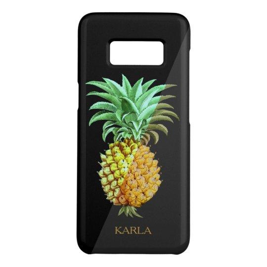 Coque Case-Mate Samsung Galaxy S8 Illustration simple de cru d'ananas