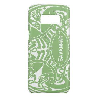Coque Case-Mate Samsung Galaxy S8 iPhone personnalisé par motif celtique de cercle