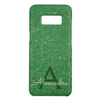 Coque Case-Mate Samsung Galaxy S8 Irlandais vert de monogramme de parties