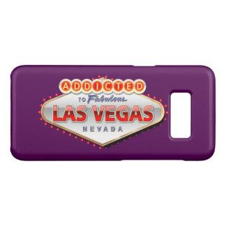 Coque Case-Mate Samsung Galaxy S8 Las Vegas, signe bienvenu drôle de nanovolt