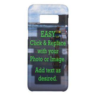 Coque Case-Mate Samsung Galaxy S8 Le clic simple et remplacent l'image pour créer