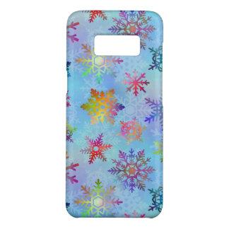 Coque Case-Mate Samsung Galaxy S8 Motif assez coloré de Noël de flocons de neige