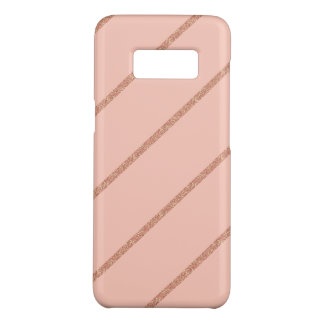 Coque Case-Mate Samsung Galaxy S8 motif en pastel de rayures de pêche de