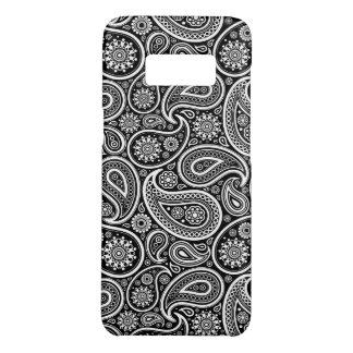 Coque Case-Mate Samsung Galaxy S8 Motif noir et blanc élégant de Paisley