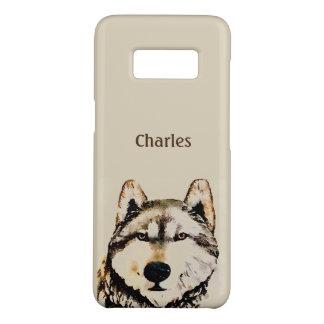 Coque Case-Mate Samsung Galaxy S8 Nom d'alpha de loup