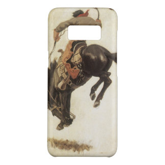 Coque Case-Mate Samsung Galaxy S8 Occidental vintage, cowboy sur un cheval