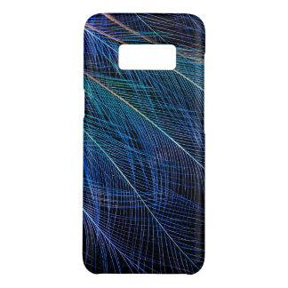 Coque Case-Mate Samsung Galaxy S8 Oiseau bleu d'abrégé sur plume de paradis