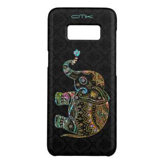 Coque Case-Mate Samsung Galaxy S8 Parties scintillantes d'éléphant mignon et