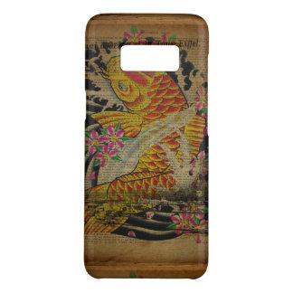 Coque Case-Mate Samsung Galaxy S8 poissons rustiques de koi de tatouage de Japonais