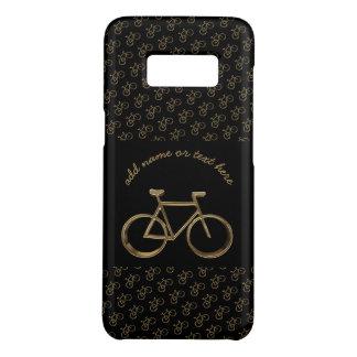 Coque Case-Mate Samsung Galaxy S8 Recyclage noir élégant de motif de bicyclette de