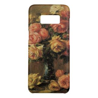 Coque Case-Mate Samsung Galaxy S8 Roses dans un vase par Pierre Renoir, beaux-arts