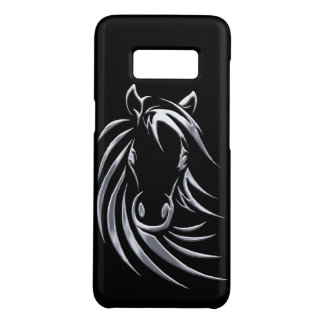 Coque Case-Mate Samsung Galaxy S8 Tête de cheval argentée