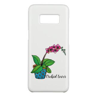 Coque Case-Mate Samsung Galaxy S8 Usine d'orchidée d'aquarelle dans le beau pot