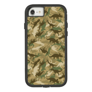 Coque Case-Mate Tough Extreme iPhone 7 Cas de dinosaure de camouflage