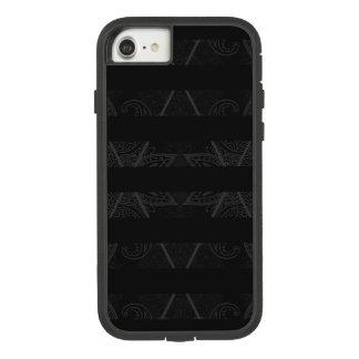 Coque Case-Mate Tough Extreme iPhone 7 Noir embelli par Jacquard rayé