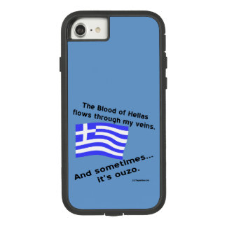 Coque Case-Mate Tough Extreme iPhone 7 Sang de l'Hellade et d'ouzo