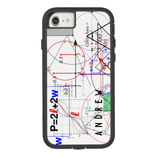 Coque Case-Mate Tough Extreme iPhone 8/7 Équation de la Science de physique de maths
