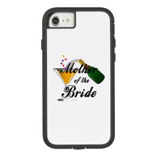 Coque Case-Mate Tough Extreme iPhone 8/7 Mère du pain grillé de Champagne de jeune mariée