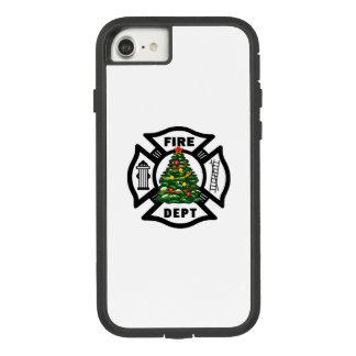 Coque Case-Mate Tough Extreme iPhone 8/7 Noël de sapeur-pompier