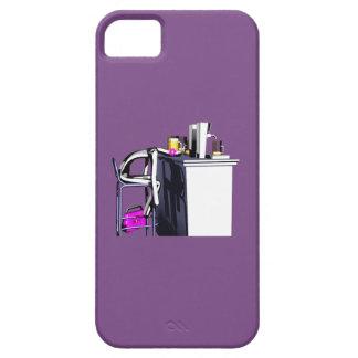 Coque Coups de bar femme 2 iPhone violet
