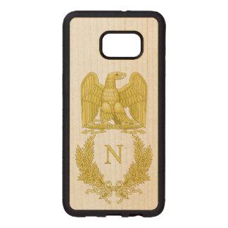 Coque En Bois Galaxy S6 Edg Emblème de Napoleon Bonaparte