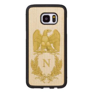 Coque En Bois Galaxy S7 Edge Emblème de Napoleon Bonaparte