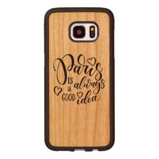 Coque En Bois Galaxy S7 Edge Paris est toujours un bon manuscrit d'idée