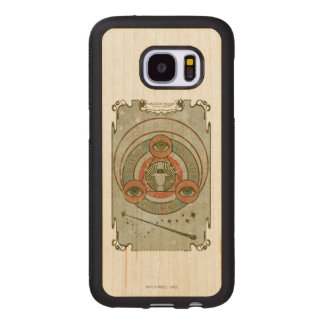 Coque En Bois Galaxy S7 Graphique de Queenie Goldstein Legilimency