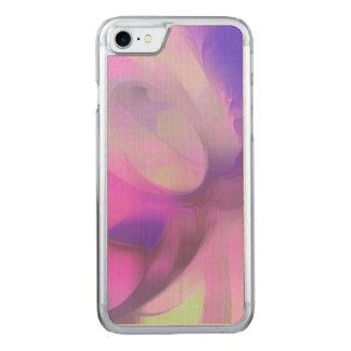 Coque En Bois iPhone 7 Abrégé sur pastel de jus de prune