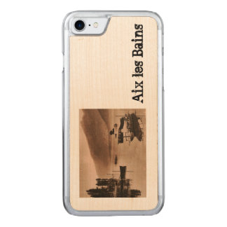 Coque En Bois iPhone 7 AIX-LES-BAINS - Le Lac du Bourget