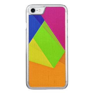 Coque En Bois iPhone 7 Amusement de Geo 15 (i)