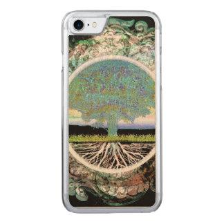 Coque En Bois iPhone 7 Arbre de bonheur de la vie