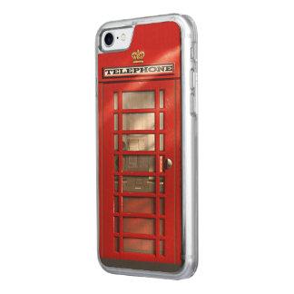 Coque En Bois iPhone 7 Cabine téléphonique rouge britannique classique