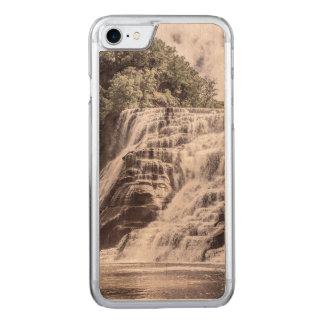 Coque En Bois iPhone 7 Chutes de cascade