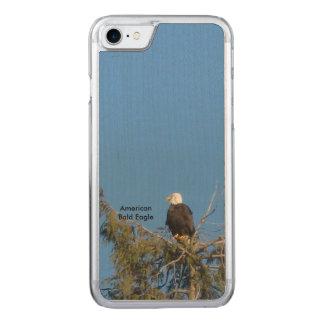 Coque En Bois iPhone 7 iPhone américain 6 d'Eagle chauve