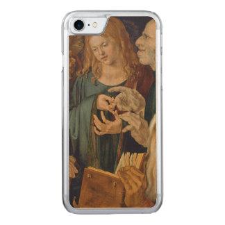 Coque En Bois iPhone 7 Jésus parmi les médecins par Albrecht Durer