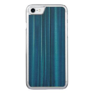 Coque En Bois iPhone 7 Le bleu drape