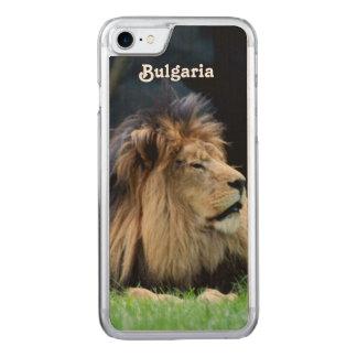 Coque En Bois iPhone 7 Lion de la Bulgarie