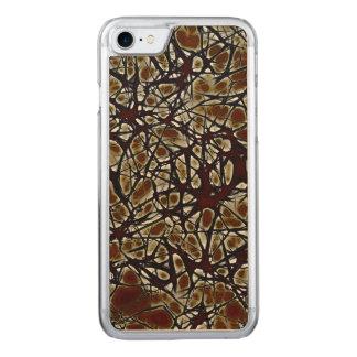 Coque En Bois iPhone 7 Neurones