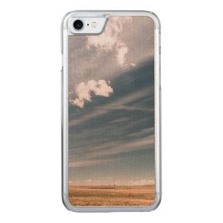 Coque En Bois iPhone 7 Nuages de désert