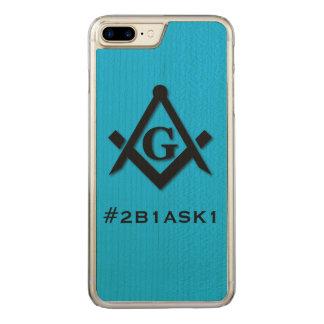 COQUE EN BOIS iPhone 7 PLUS #2B1ASK1