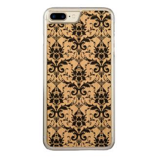 Coque En Bois iPhone 7 Plus Damassé