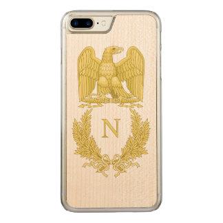 Coque En Bois iPhone 7 Plus Emblème de Napoleon Bonaparte