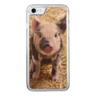 Coque En Bois iPhone 7 Porc mignon