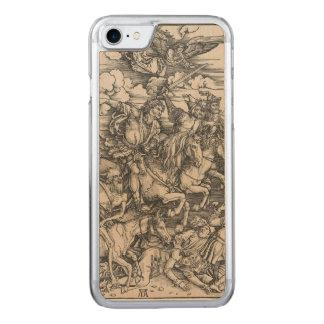 Coque En Bois iPhone 7 Quatre cavaliers de l'apocalypse par Durer